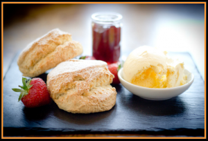 Cream Tea at the Bedford, its historic birthplace