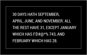 Has your January been endless?